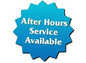 After Hours Service Available